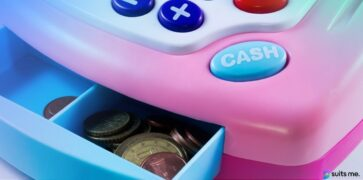 Euro Coins in a Toy Cash Register. Representing the Difficulties of Opening a UK Bank Account as a Non-Resident