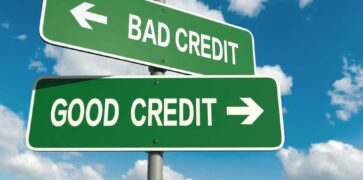 Bad Credit and Good Credit Signs