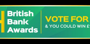 British Bank Awards Green Logo