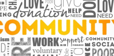 Community Words; Aid, Hope, Giving