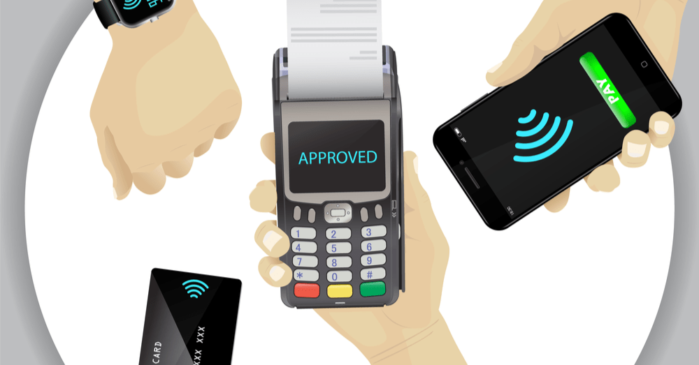 Contactless Payment Methods; Debit Card, Phone and Smart Watch