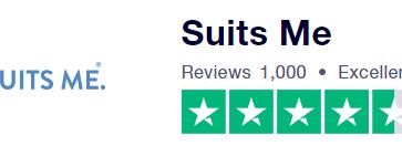 Suits Me 1000th Trust Pilot Review