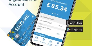 Suits Me Mobile Banking App and Debit Card