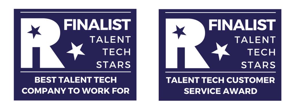 Suits Me - Finalist Award Logo- Talent Tech Stars Logo