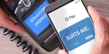 Suits Me & Google Pay Contactless Payment