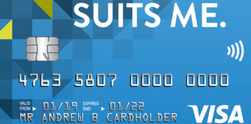 Suits Me Visa Debit Card