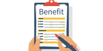 Illustration of Universal Credit Benefits Clipboard