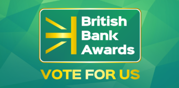 Green British Bank Awards Logo