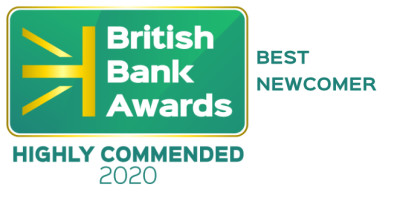 British Bank Awards Highly Commended 2020