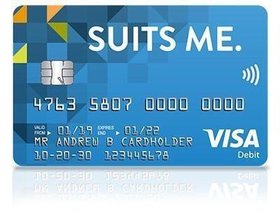 Suits Me Debit Card